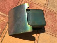 1964 1/2 1965 1966 Ford Mustang In Dash Ash Tray Stripped Plated Decent