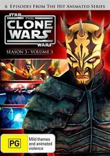Star Wars - The Clone Wars - Animated Series : Season 3 : Vol 3 (DVD, 2012) NEW