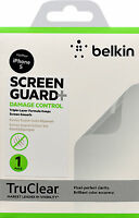 Belkin Damage Control Screen Protector for iPhone SE 5 5S Crystal Clear  Pack 1