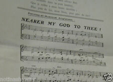 TITANIC Music Song Classical Emotional Ship Boat Disaster Band Plays Sheet Old