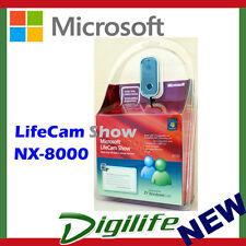 Microsoft Lifecam Show NX-8000 Webcam for PC USB World-Class Optics