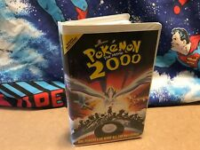 WB Kids Pokemon 2000 The Movie VHS Tapes CARTOONS Animated Articuno ZAPDOS