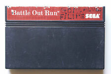 BATTLE OUT RUN sur Sega MASTER SYSTEM