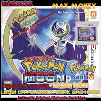Pokemon Moon Loaded With All 802 +Legit Event Pokemon Unlocked - Authentic
