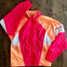 Nike Jacket Vintage 70s or 80s Large L Pink and Orange - G3