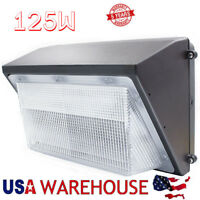 100W 125W LED Wall Pack Security Light ETL Fixture For Outdoor Warehouse Lights