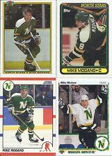 Mike Modano 1990-91 Upper Deck Score Topps Bowman Rookie Card Lot