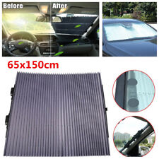 Car Windshield Sunshade Automatic Retractable Sunshade Sun Shield UV Protection