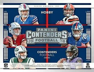 2018 Panini Contenders Football - INSERTS - Pick Your Card - Complete Your Set *