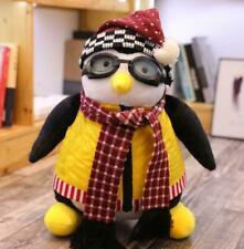 "18"" Cute Joey's Friends Penguin Hugsy Plush Rachel Stuffed Toy Xmas child Gift"