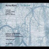 ARVO PÄRT - TE DEUM/SILOUNS SONG/MAGNIFICAT/BERLINER MESSE  CD NEW!