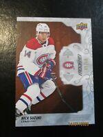 2019-20 Engrained #79 Mahogany Nick Suzuki Rookie /10 SSP Montreal Canadiens RC