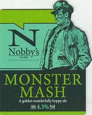 NOBBY'S BREWERY - MONSTER MASH - PUMP CLIP FRONT