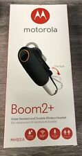 New listing Motorola Boom 2+ Water Resistant & Durable Wireless Headset (Mh003A)