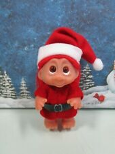 """CHRISTMAS SANTA'S HELPER (#2) -  3"""" Dam Norfin Troll Doll - NEW WITHOUT HANG TAG"""