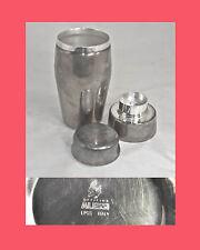 Alessi ALFRA officina Classic Shaker barista Massoni Mazzeri silvered Argentato