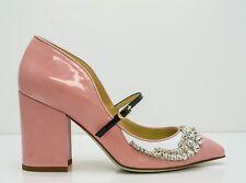 Giannico Ladies New Margot Pink Patent & Jewel Shoe New in Box