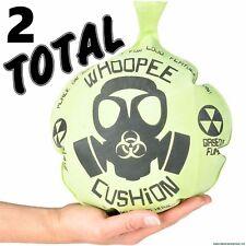 "(2) 10"" MONDO WHOOPEE CUSHION Giant Jumbo Whoopie Maker Gas Joke Fart Noise"