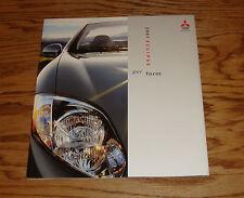 Original 2007 Mitsubishi Eclipse Sales Brochure 07 Coupe Spyder