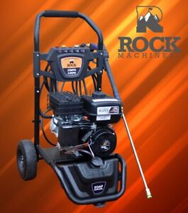 Rock Machinery 2500PSI 6.5HP Petrol Pressure Washer