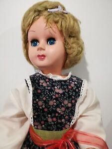 Vintage Old 1960's Italian Doll
