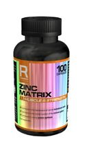 Reflex Zinc Matrix 100 Caps Zinc Magnesium Vitamin B6 Supplement Like ZMA