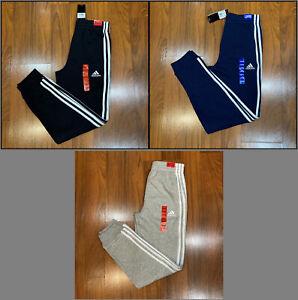 adidas Boys Athletic Track Pants Size S-(8),M-(10/12),L-(14/16),XL(18/20) New