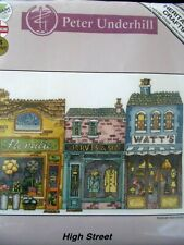 "Cross stitch Kit Peter Underhill "" High Street "" New Heritage Crafts"