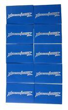"""50 Pack Oversized 1/0 AWG 0 Gauge 3/4"""" Diameter Heat Shrinks BLUE"""