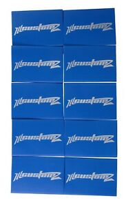 """10 Pack Oversized 1/0 AWG 0 Gauge 3/4"""" Diameter Heat Shrinks BLUE"""