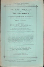 The East Anglian or Notes & Queries Rv Evelyn White Vol XI Jan-Dec 1906 12 iss