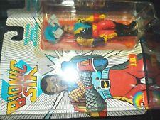 VTG 1980s 1985 1986 1987 LJN Bionic Six 6 JD J.D. die cast metal bennett family~