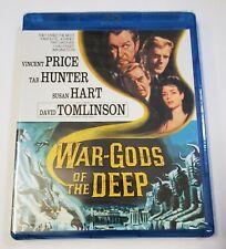 War-Gods of the Deep (Blu-ray, 2015) NEW! Kino Lorber. 1965 Vincent Price Horror