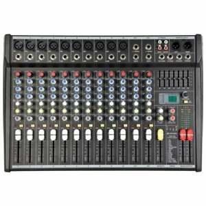 Citronic 14 Channel PA Powered Mixer Amplifier Desk 700w inc Digital Effects FX