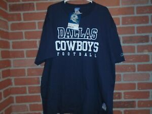 DALLAS COWBOYS MENS REEBOK TSHIRT SIZE XLARGE NEW WITH TAGS