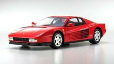 #ksr08663r - Kyosho Ferrari Testarossa-Rouge - 1:12