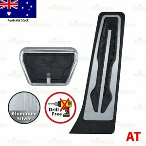 AUTO SLIP-ON M Performance Gas Fuel Brake Foot Pedals Covers UNIVERSAL fits BMW
