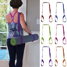 Adjustable Yoga Mat Sling Carrier Shoulder Carry Strap Belt Stretch Exercise