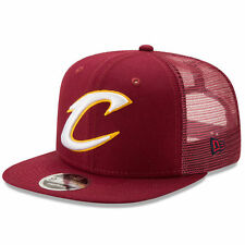 Cleveland Cavaliers New Era Wine Trucker Patched Snapback 9FIFTY SnapBack