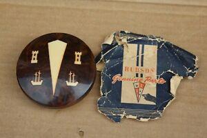 NOS 1948-1949 Hudson Super Model Plastic Horn Button