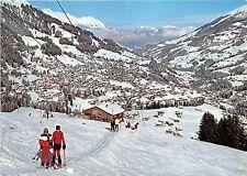 BG18075 adelboden skilift kuonisbergli niesen niederhorn rothorn ski switzerland