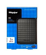 1TB Maxtor Seagate M3 External Hard Drive USB 3.0 Powered HDD Portable Disk 1 TB
