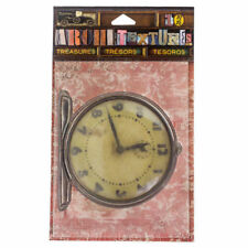 7gypsies Architextures Treasures Alarm Clock Mixed Media #7g25076