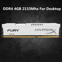 Für Kingston HyperX 4 GB 8 GB 16 GB DDR4 2133 MHz PC4-17000 Desktop RAM Weiß