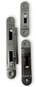 Fullex 220 Composite door keep set centre and 2 hookbolt keeps universal handed