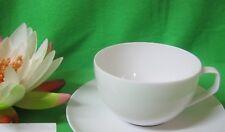 Kaffeetasse ( Kombitasse ) 1 tlg  weiß Gropius TAC von Rosenthal mehr da