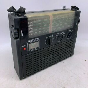 Historic 1970s Cihan S700 Vintage Transistor LW/SW2/SW1/MW/FM Radio