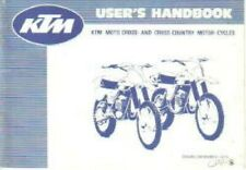 1979-1980 Ktm 125 175 250 400 Motorcycle Owners Handbook