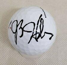 JB HOLMES PGA SIGNED AUTOGRAPHED GOLF BALL COA MASTERS