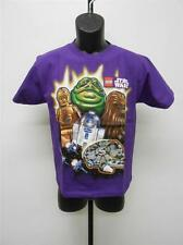 NEW-STAR WARS JABA THE HUT CHEWY C3PO R2D2 YOUTH XLARGE XL SIZE 18-20 SHIRT 65WH